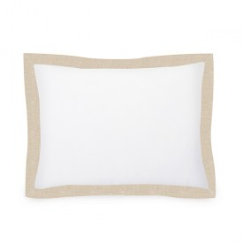 YVONNE_20x27 Std Sham - WHTCotton -Seashell Woven-3Mitered Flange_web